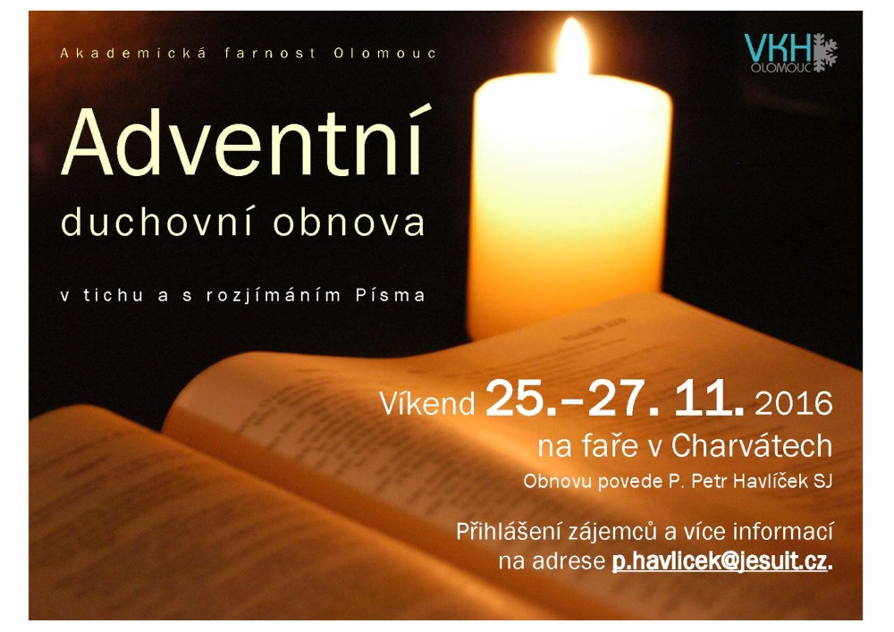 plakat Advent duch obnova 2016